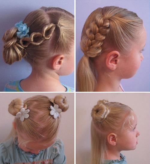 Детские прически пошаговое для девочек на короткие волосы