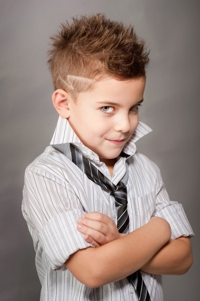 Причёски для мальчиков