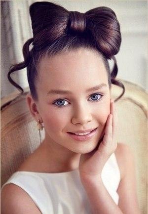 Красивые причёски для девочек фото