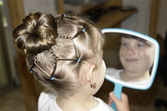 Модные прически: Модные причёски для длинных волос 529