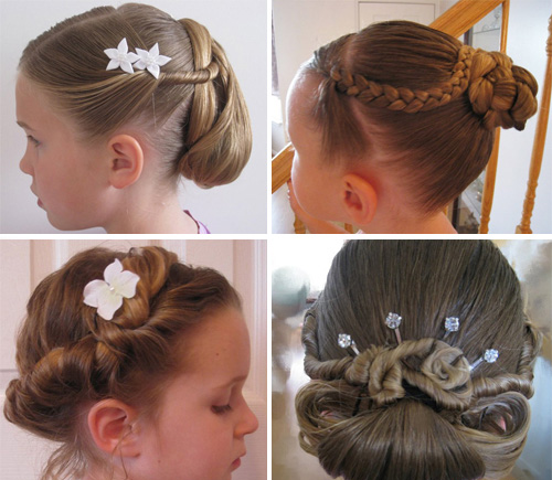 Причёски на выпускной в детский сад