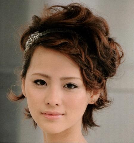Причёски на выпускной на короткие волосы