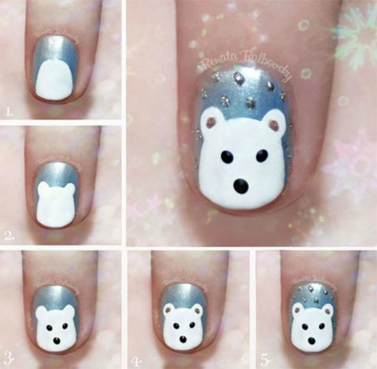 Узоры на ногтях для начинающих Life-reactor 18