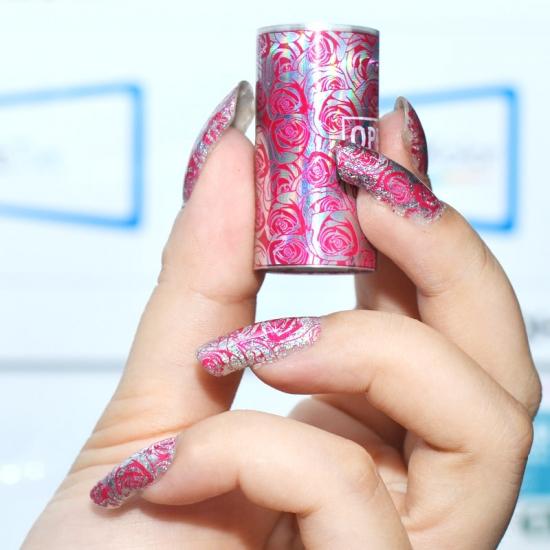 Идеи дизайна ногтей с фольгой