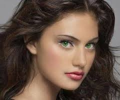 Цвет волос для зелёных глаз