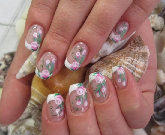 Укрепление ногтей биогелем: фото