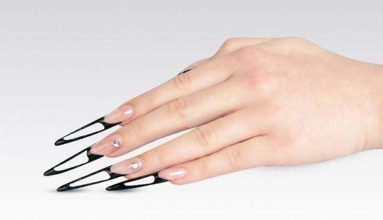 Стилет форма ногтей как сделать
