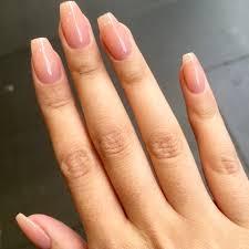 Форма балерина ногтей маникюр