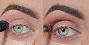 Макияж для нависшего века и увеличения глаз 86