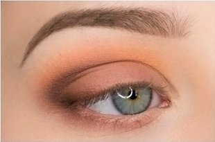 Макияж для серо-голубых глаз пошаговый с фото