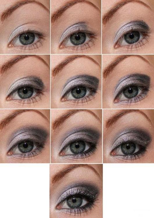 основы макияжа для голубоглазых