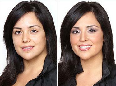 Как макияжем уменьшить нос: фото