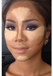 Как уменьшить нос макияжем пошагово