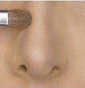 Как уменьшить длинный нос макияжем