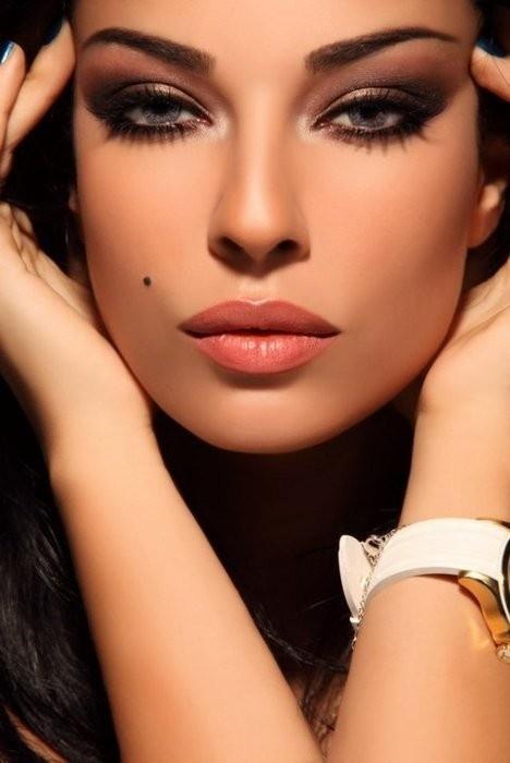 красивый макияж фото вечерний