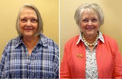 Стрижка для тонких волос: фото до и после