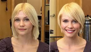 Каре боб на тонкие волосы фото до и после