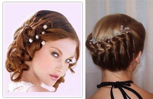 Плетение для волос средней длины в домашних условиях