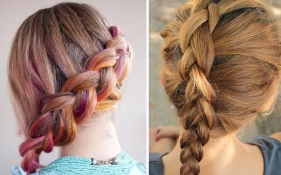 Причёски для длинных тонких волос