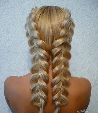 Причёски для тонких длинных волос