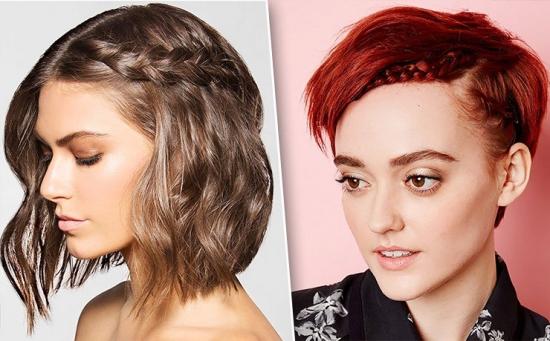 Причёски для тонких редких волос