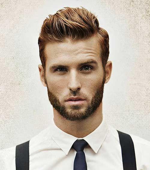 Модные мужские причёски на тонкие волосы