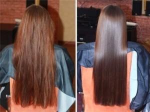 Стоимость глазирование волос