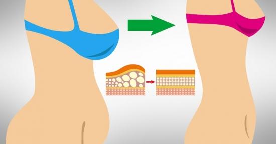 Как убрать жир на животе и талии
