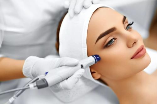 Лечение лазером кожи лица
